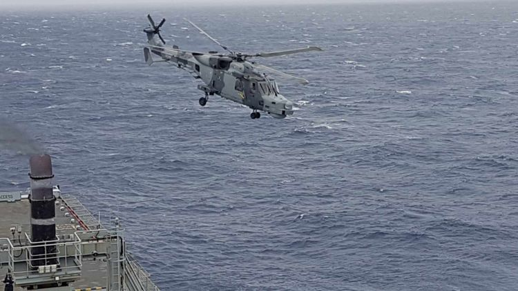 RFA Mounts Bay Wildcat airborne 040919 CREDIT RFA Mounts Bay.jpg