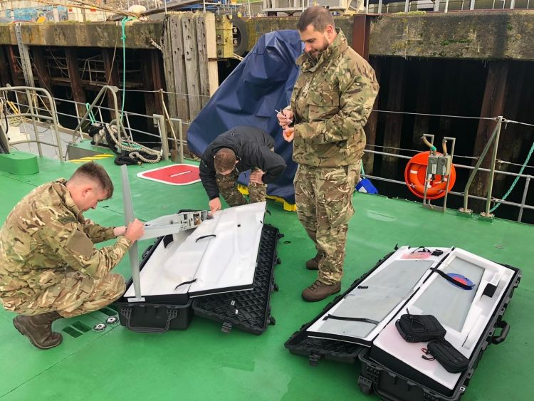 RNAS Culdrose Squadron 700X Leading Royal Navy Research Into Drones And Remotely Piloted Air Systems 2 Credit Royal Navy 170120.jpg