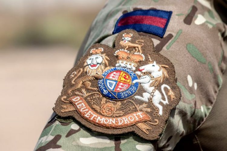 RSM Badge: Picture MoD/Crown Copyright