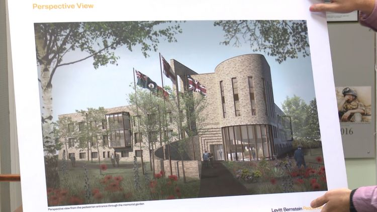Re-development plan for Broughton House to become veterans village 100919 CREDIT BFBS.jpg