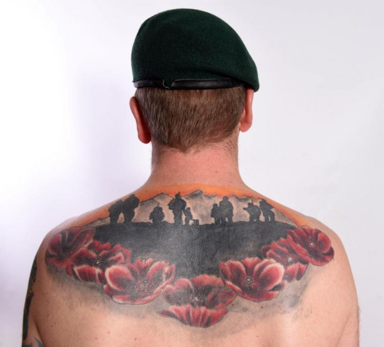 Rob French Poppy Tattoo 091117