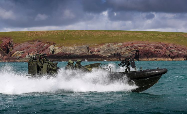 Royal Marines Exercise Dragon Fire