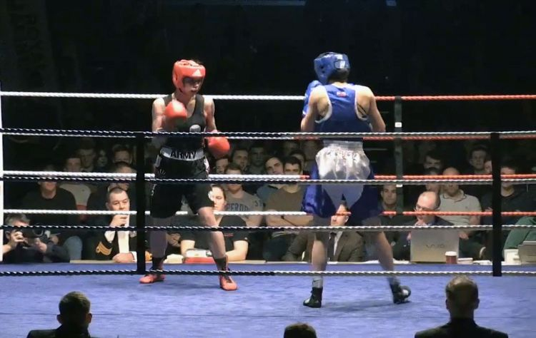 Royal Marines women in boxing championships for first time 2018