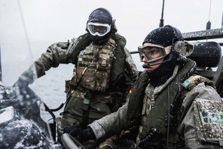 British personnel have been on exercise in Norway this year (Picture: Royal Navy).