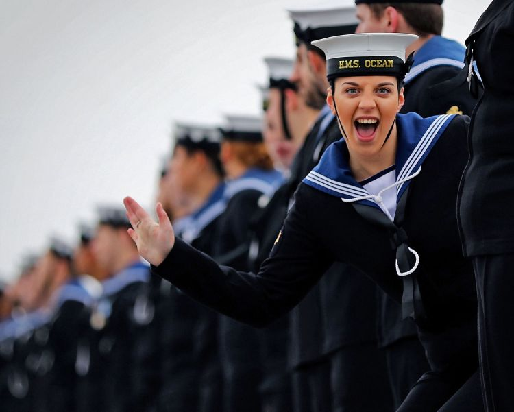 Royal Navy sailor - HMS Ocean