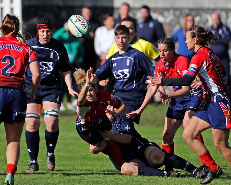 Women's rugby - UK military