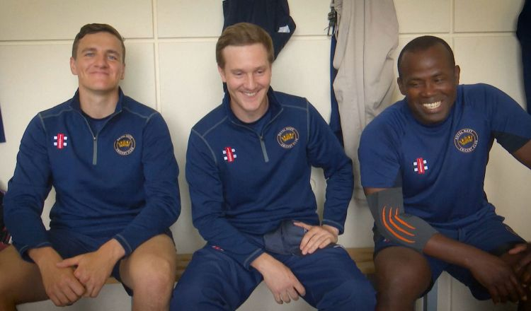Royal Navy pre-Inter-Services T20 dressing room chat