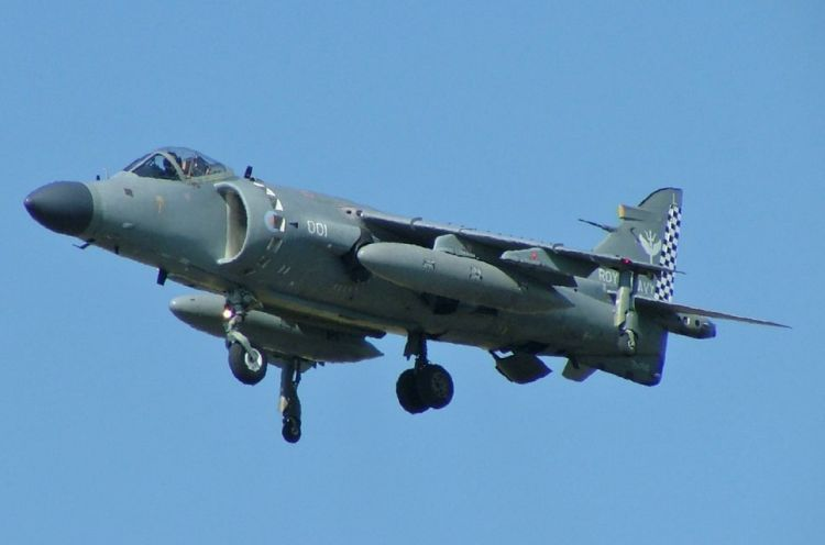 Royal Navy Sea Harrier 2005