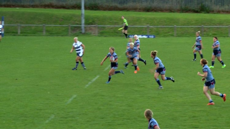 Royal Navy vs RAF women's rugby league