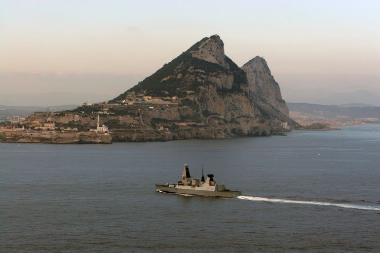 There remains a strong link between the Armed Forces and Gibraltar (Picture: MOD).