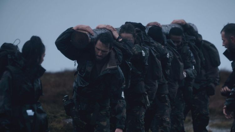 SAS Who Dares Wins 2020 Log Carry Episode 3 Credit: Channel 4