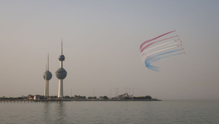 Red Arrows End Historic Middle East Tour