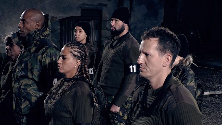 Celebrity SAS Who Dares Wins Episode 2 Parade Square Credit Channel 4