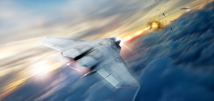 SHiELD laser by Lockheed Martin CREDIT Lockheed Martin