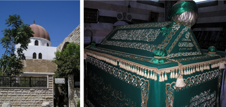 Saladin's tomb in Damascus