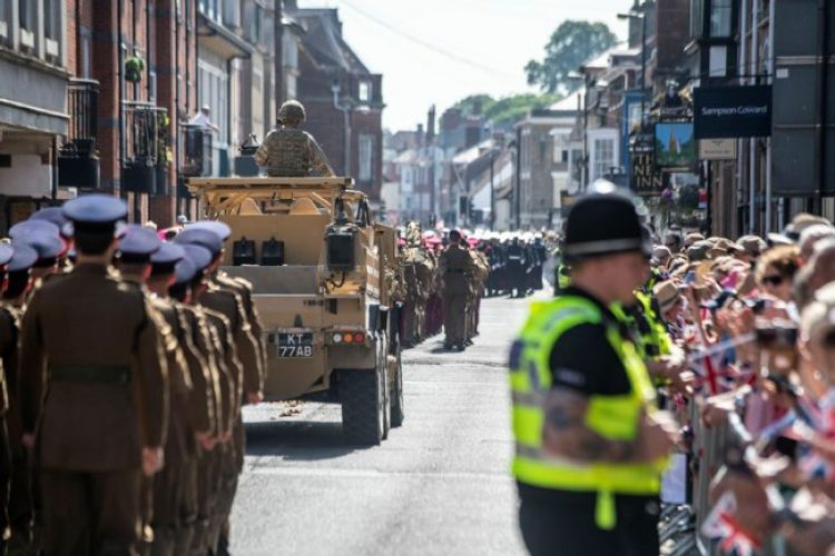 Salisbury Armed Forces Day parade