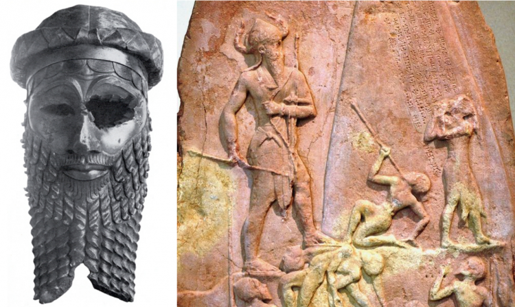 Sargon of Akkad and Victory Stele of Naram Sin