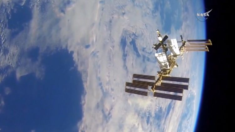 - Satellite 20from 20view 20of 20the 20space 20station 20Date 20Unknown 20 20CREDIT 20NASA - British Astronaut Tim Peake On The UK's Future In Space
