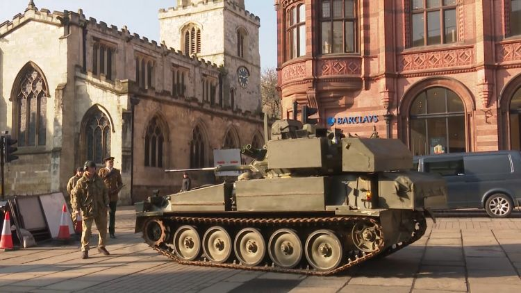Scimitar parking in the centre of York 040419 CREDIT BFBS.jpg