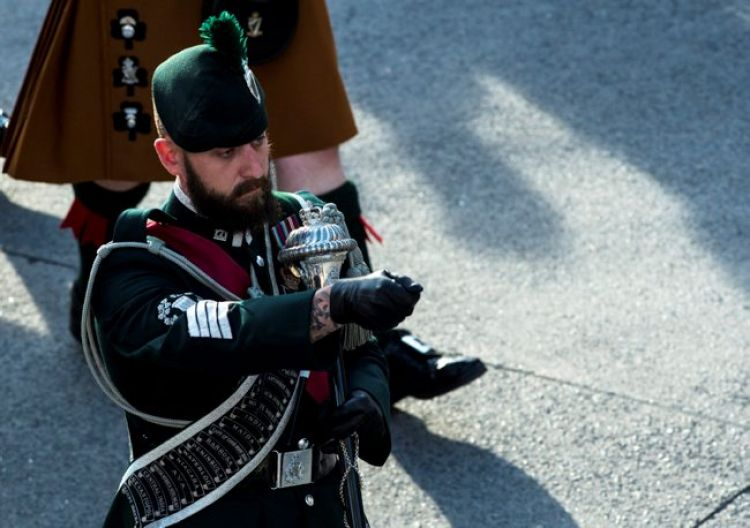Irish Pipes and Drums beard