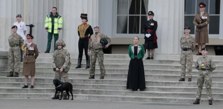 W100 women in the army, Sandhurst