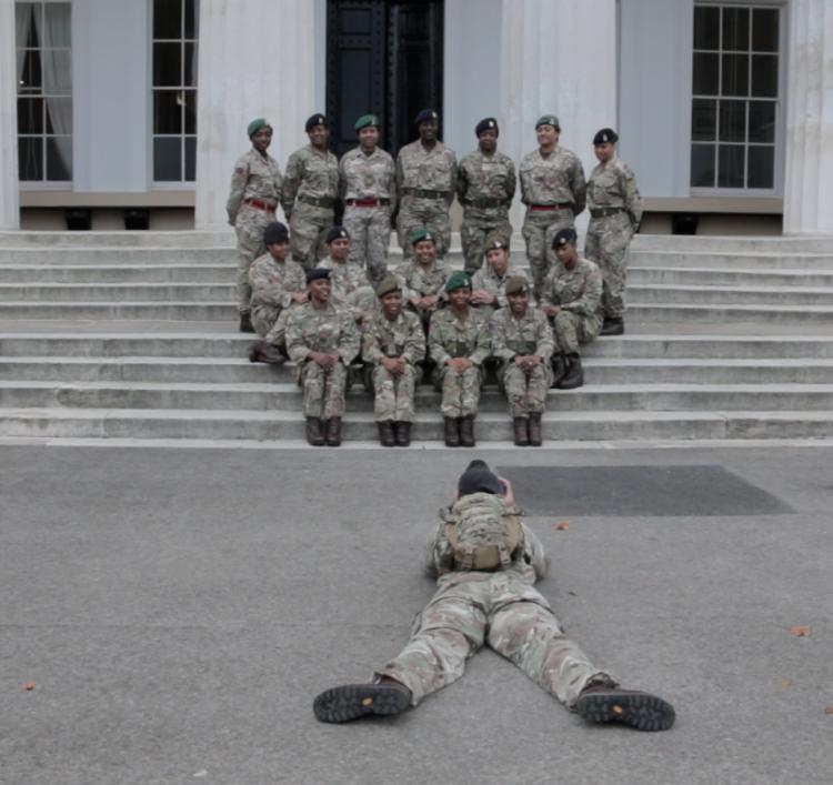 photo op Sandhurst women in the Army