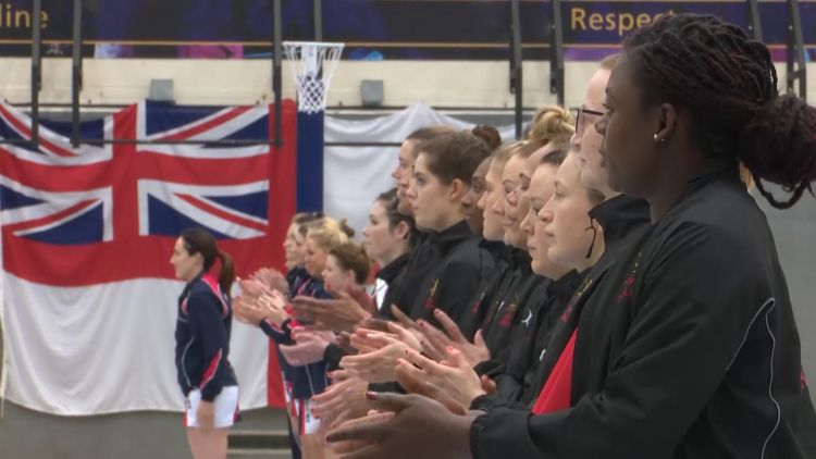 Army Beat The Navy In The Inter-Services Netball
