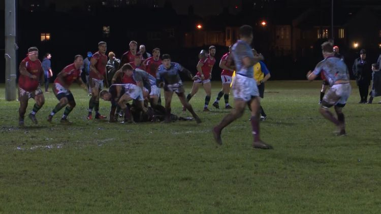 RAF Lose To The Police As They Prepare For The Rugby Union Inter-Services