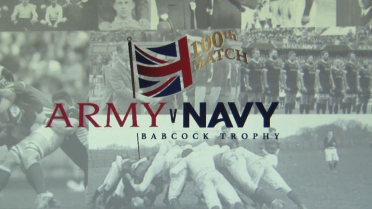 Army-Navy centenary rugby match