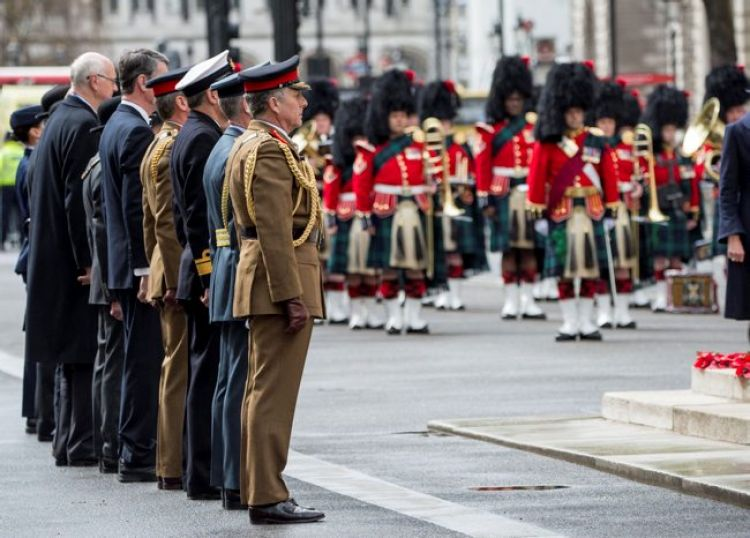 Service at the Cenotaph in London has marked Anzac Day 250419 CREDIT MOD.jpg