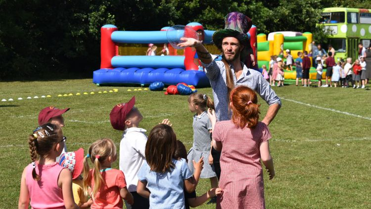Service Families Picnic Forces Live Events CSE Gosport Portsmouth Bubble Max