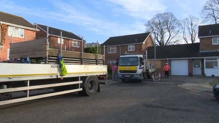 Skripal house working beginning