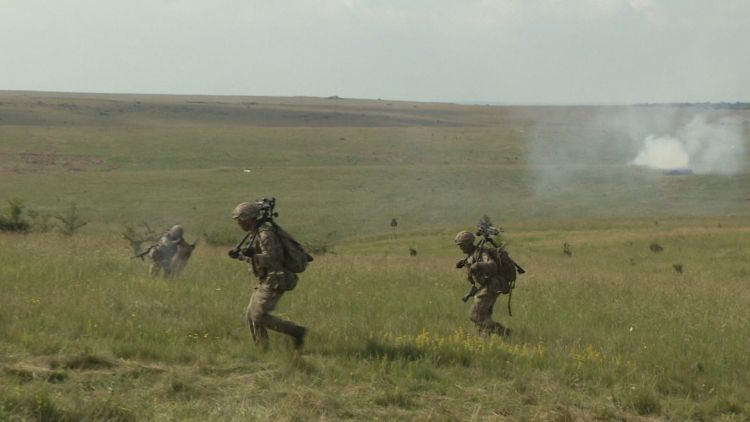 Snipers carry kit around during ex relentless fire 021019 CREDIT BFBS.jpg