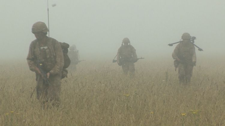 Snipers during ex relentless fire 021019 CREDIT BFBS.jpg