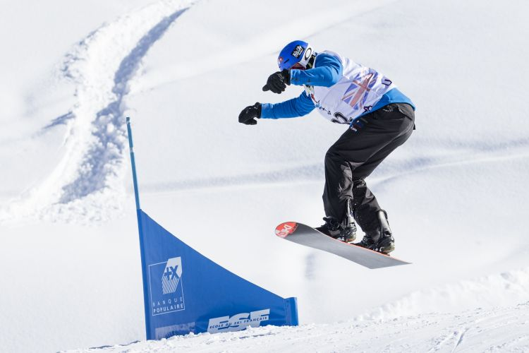 Snowboard Cross Meribel 2019 Credit Crown Copyright