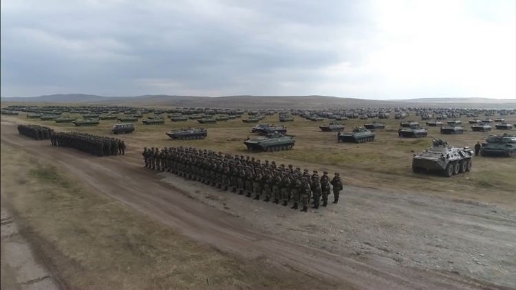Soldiers at Vostok 2018 (Picture: Russian Ministry of Defence).