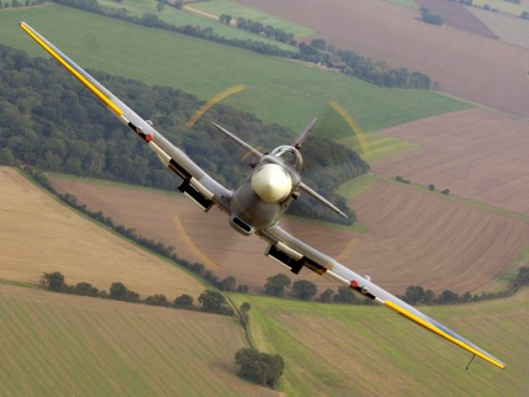 Spitfire face on Defence imagery