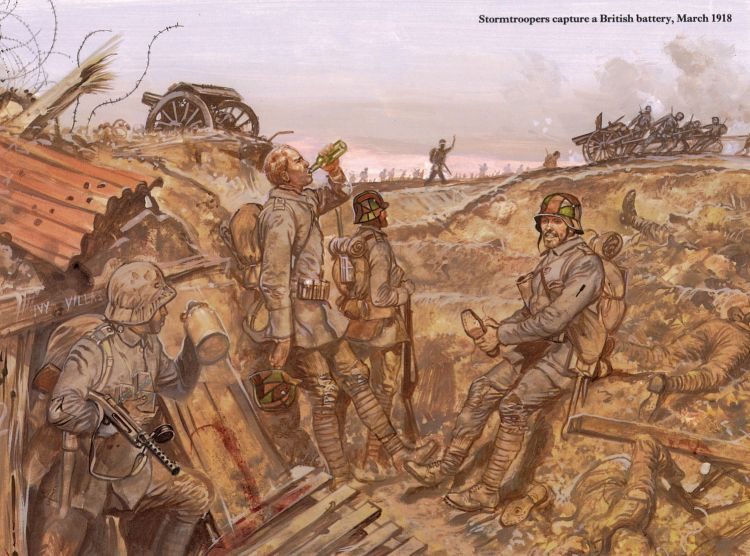 Spring Offensive 1918 - from Ian Drury's 'Stormtrooper'