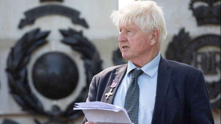 Anniversary Of WWII Air Crash Involving Boris Johnson's