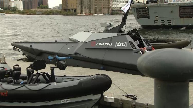 Surveillance vessels at DSEI 2019