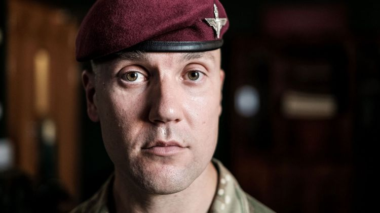 Maj Nick French ITV Promo Picture Credit The Paras: Men Of War