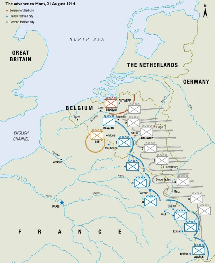 Mons: Britain's First WW1 Clash on living in mons belgium, world map brussels belgium, map of france in ww1, charleroi belgium, shape belgium, map of sandhurst, map of mons brussels, map of mons france, map of hayling island, map of ludgershall,