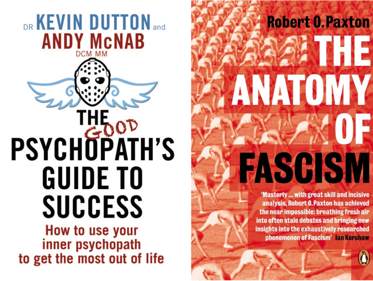Andy McNab, Kevin Dutton, Robert Paxton