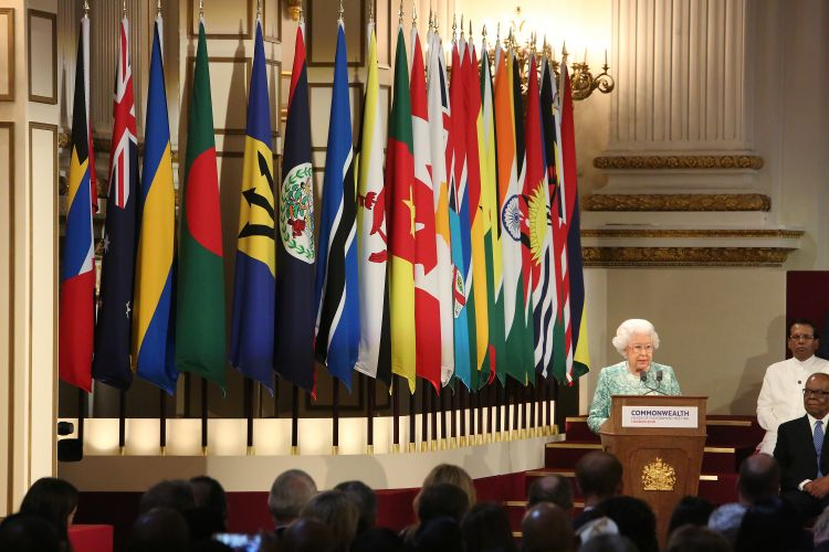 The Queen at the formal opening of CHOGM in 2018 110319 CREDIT Commonwealth Secretariat