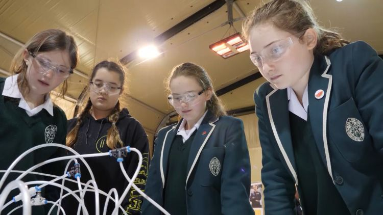 The programme aims to get pupils more interested in STEM subjects.