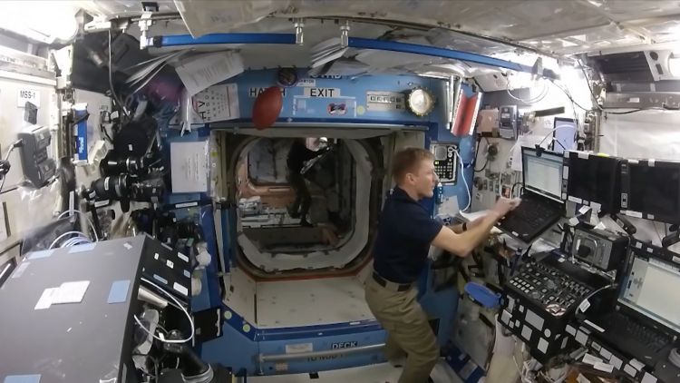 - Tim 20Peake 20on 20the 20Space 20station 20Date 20unknown 20CREDIT 20NASA - British Astronaut Tim Peake On The UK's Future In Space