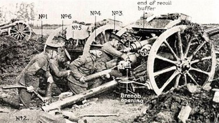 an overview of the 6 pounder field guns