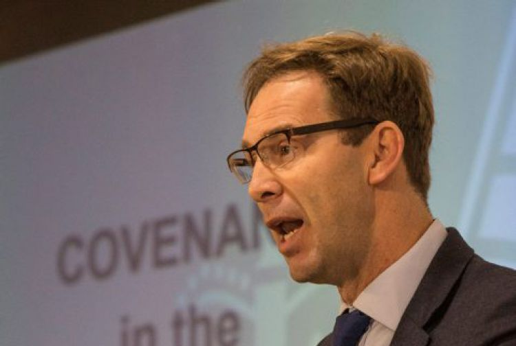 Tobias Ellwood at conference