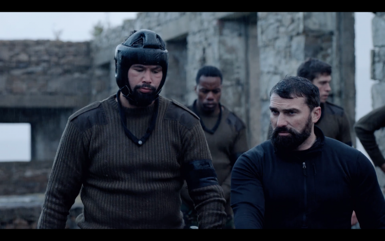 Celebrity SAS Who Dares Wins Tony Bellew Hand To Hand Combat Credit Channel 4