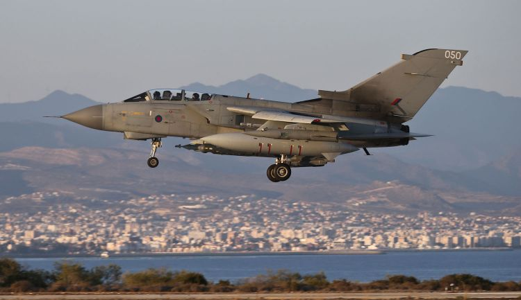 Tornado GR4s have been used by the RAF to conduct airstrikes (Picture: MoD).